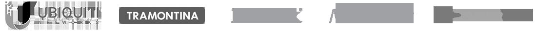 A ISP Shop é representante das marcas: Ubiquiti, D-Link, Mikrotik, Overtek e Tramontina.