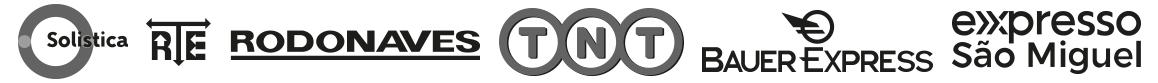 Transportadoras Parceiras da ISP Shop: TNT, Bauer, Rodonaves, Solista e Expresso São Miguel