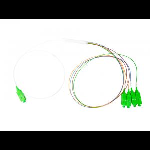 Splitter Óptico PLC 1x4 Conectorizado SC/APC OT-8302-APW