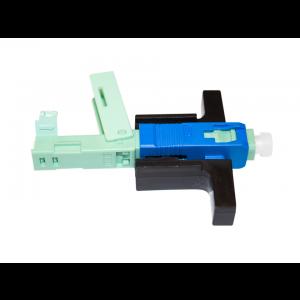 Fast Conector Óptico Encaixável SC/UPC Reutilizável OT-8513-FC