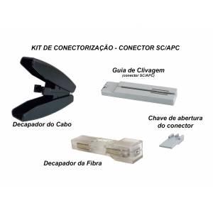 Kit de Conectorização - Fast Conector SC/APC OT-8472-KC