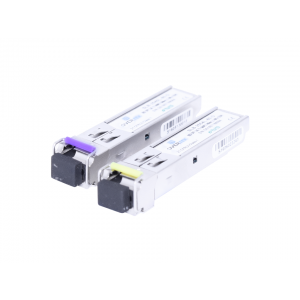 Módulo Mini-Gbic SFP 2.5Gbps Bidirecional 80 Km OT-8622-GP (Par)