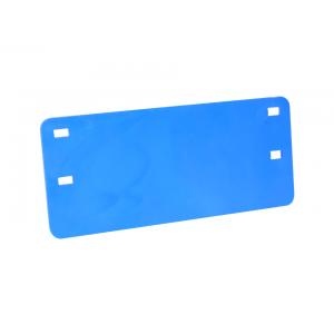 Plaqueta de Identificação Azul Cabo Óptico (impressão preta)