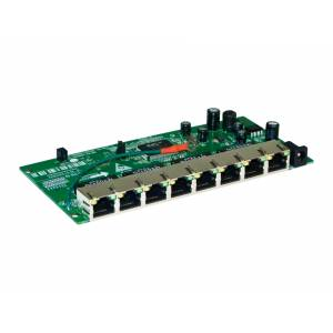Placa Switch VLAN FIXA 8 portas OT-2008-SI-VN/UX PLC