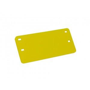 Plaqueta de Identificação Amarela Cabo Óptico (impressão preta)                                 class=