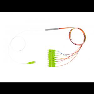 Splitter Óptico PLC 1x8 Conectorizado SC/APC OT-8303-APW