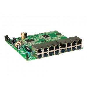 Placa do Switch Vlan Fixa 16 portas 10/100 Mbps