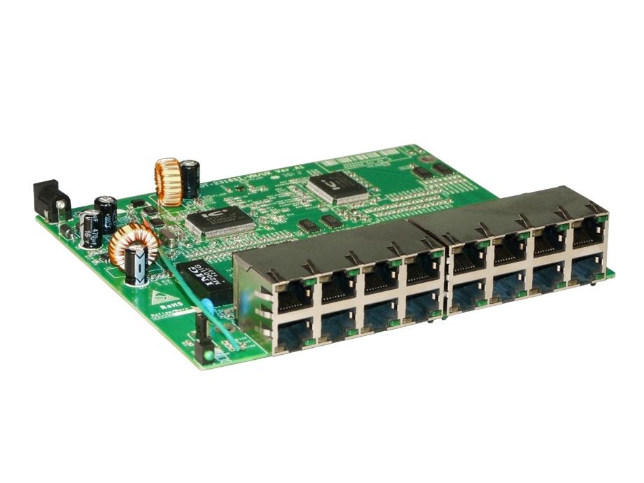 Placa do Switch Vlan Fixa 16 portas 10/100 Mbps OT-2316-SI-VN/UX