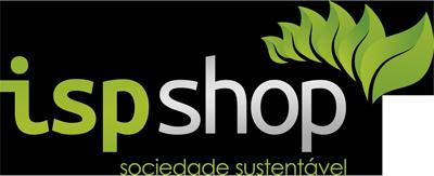 Logomarca ISP Shop - Sociedade Sustentável