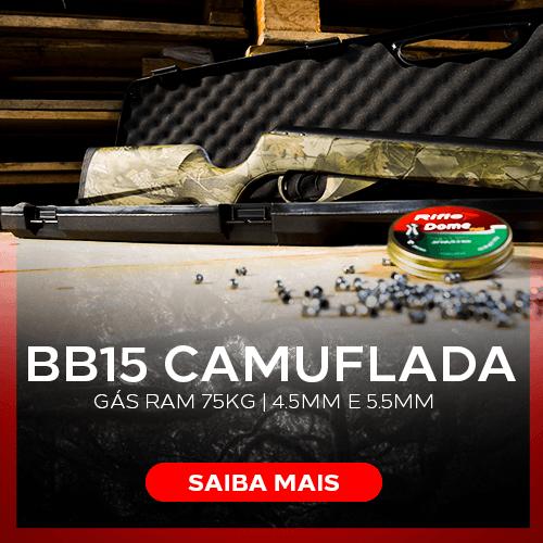 Carabina BB15 Camuflada