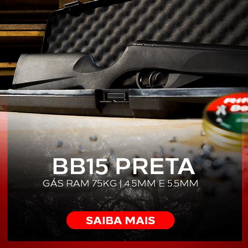 Carabina BB15 Preta