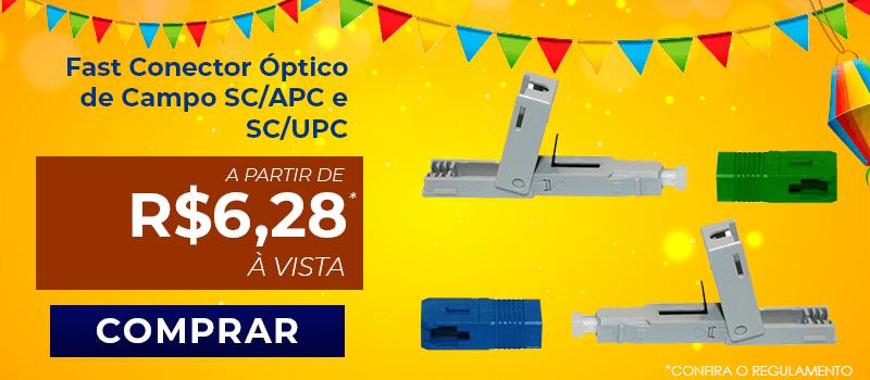 Fast Conector Óptico de Campo SC/ PC OT-840 -CR